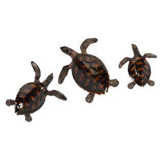 Swanson Sea Turtle Wall Decor (Set of 3)