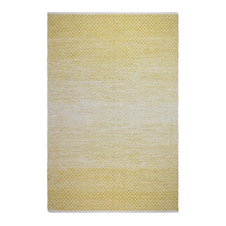Fab Habitat Indo Aurora Gold Recycled Cotton Area Rug (2' x 3')
