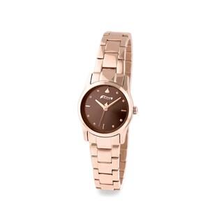 Hershey's Kisses Women's Stainless Steel Rose Gold Bracelet Watch