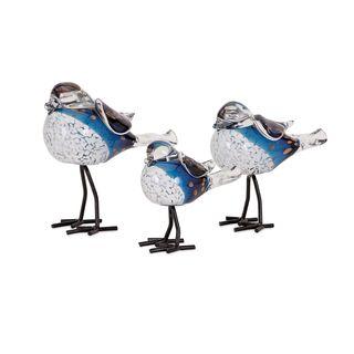 Chirp Bird Statuaries (Set of 3)