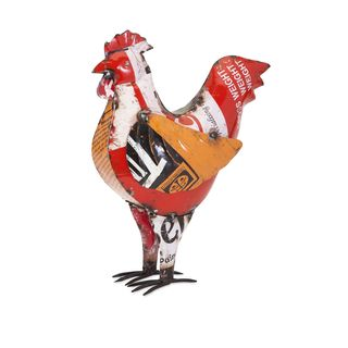 Chester the Chicken - Reclaimed Metal