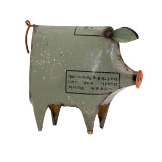 Precious the Pig - Reclaimed Metal