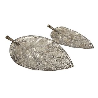 Elise Cutout Leaf Trays (Set of 2)