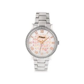 Hershey's Kisses Women's Stainless Steel Silver Bracelet Watch
