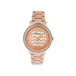 Hershey's Kisses KS011RG Ladies Stainless Steel Rose Gold Bracelet Watch