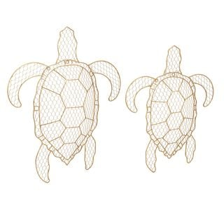 Tortuga Wire Turtle Wall Decor (Set of 2)