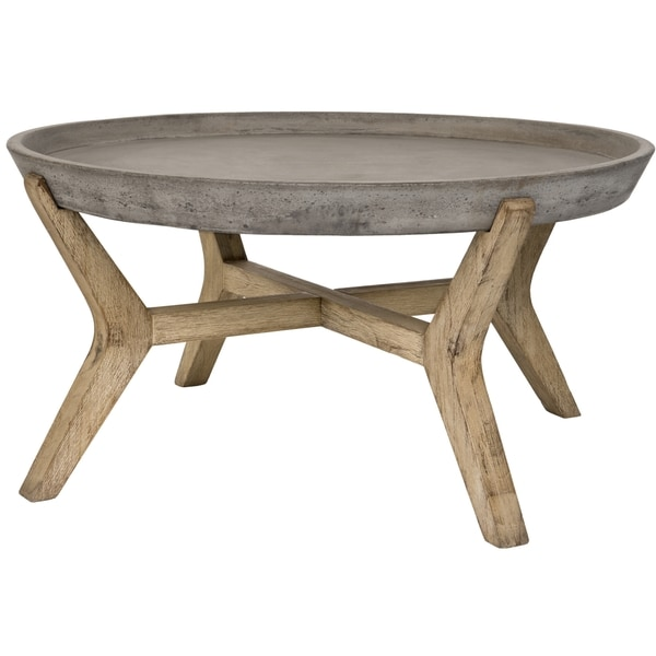 Safavieh Wynn Coffee Table (Dark Grey)