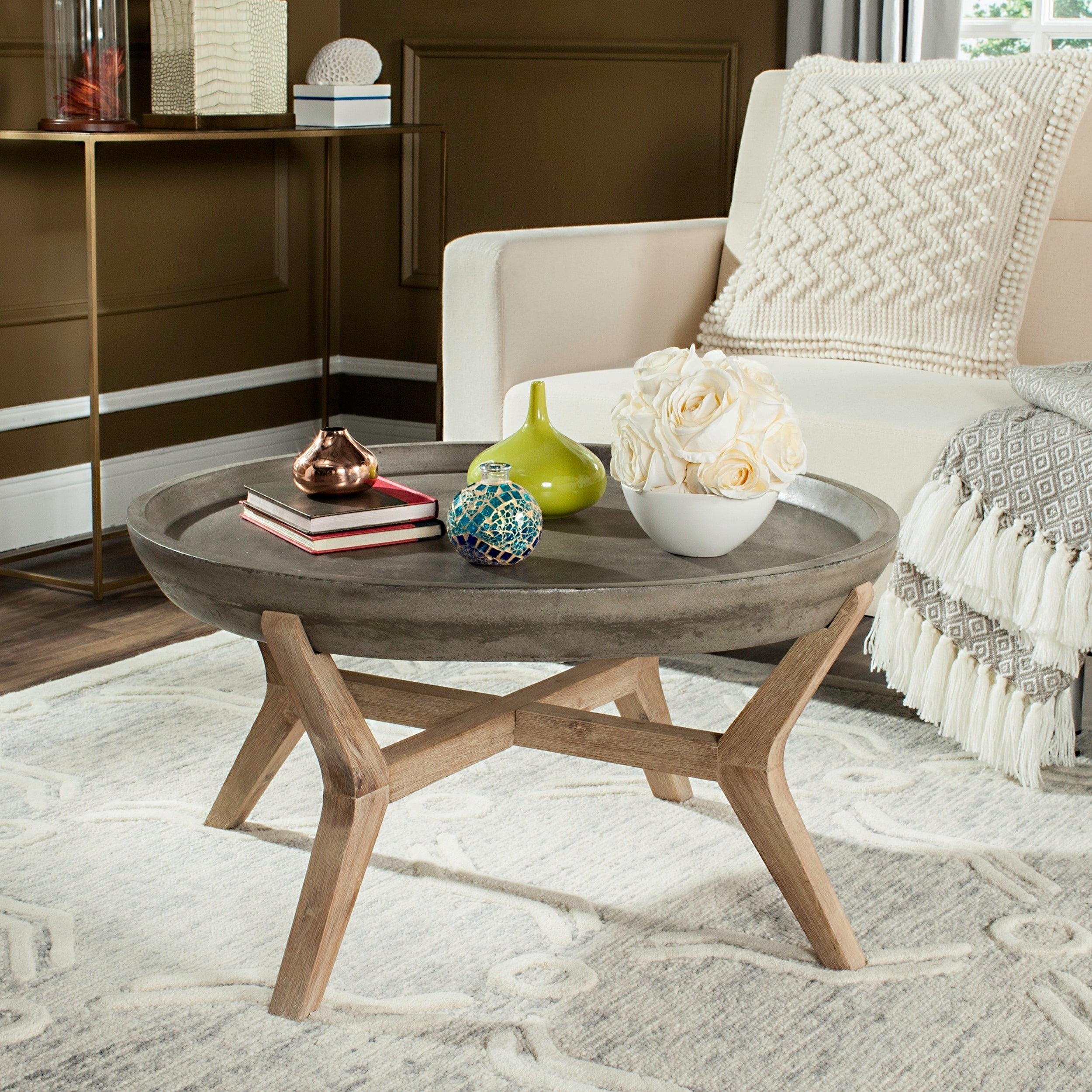 Designer Living Room Furniture Coffee Table for Indoor and Outdoor Black