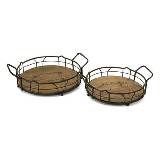 Traineur Serving Trays (Set of 2)