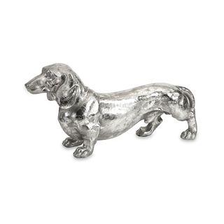 Oscar Stick Silver Dog Statue