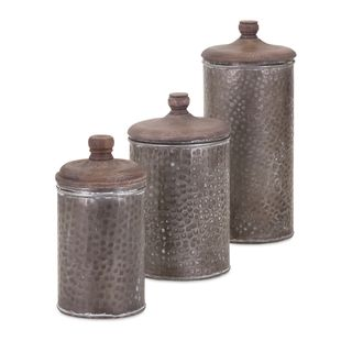 Brampton Lidded Canisters (Set of 3)