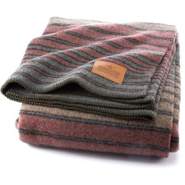 Pendleton Yakima Hemerich Stripe Queen Camp Blanket