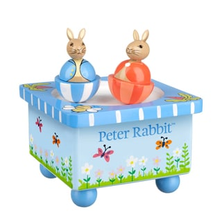 Orange Tree Toys Peter Rabbit Wooden Music Box