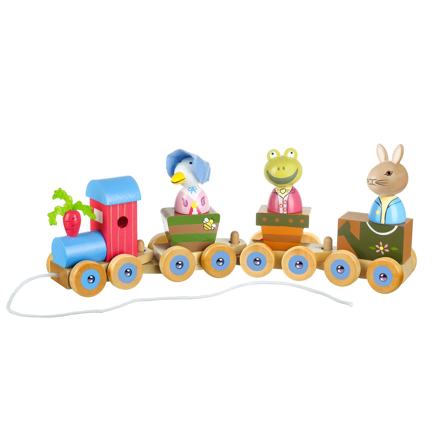 Orange Tree Toys Peter Rabbit Wooden Puzzle Train (G50670...