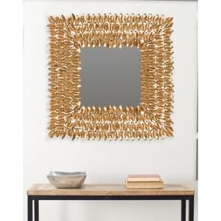 Safavieh Borghese Antique Gold 25-inch Square Mirror