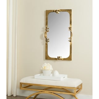 Safavieh Golden Ribbon Antique Gold Mirror
