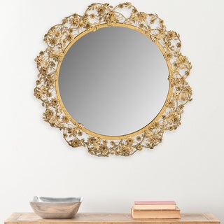 Safavieh Flora Antique Brass Mirror