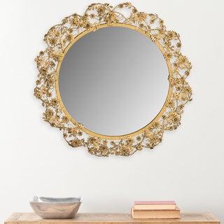 Safavieh Flora Butterfly Antique Brass 24.75-inch Mirror