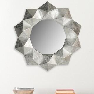 Safavieh Maritza Silver 30-inch Mirror