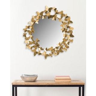 Safavieh Ruthie Butterfly Gold 27-inch Mirror
