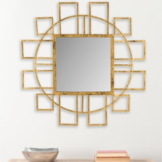 Safavieh Matrix Gold Mirror