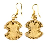 Handmade Orissa Chandi Earrings (India)