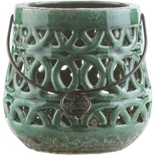 Lucian Ceramic Small Size Decorative Lantern