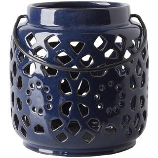Pamela Ceramic Small Size Decorative Lantern