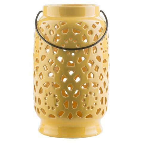 Pamela Ceramic Large Size Decorative Lantern