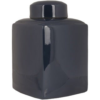"""Juliet Ceramic Medium Size Decorative Accent Jar - 16""""h x 9.5""""w x 9.5""""l"""