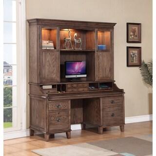 Bethany Sandstone Oak Smart Top Complete Credenza
