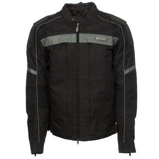 Harley-Davidson 98378-12VT Mens Waterproof FXRG Black Nylon Jacket