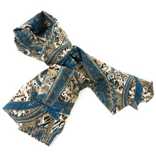 Handmade Paisley Cotton Scarf (India)