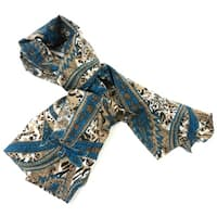 Handmade Paisley Cotton Scarf (India)