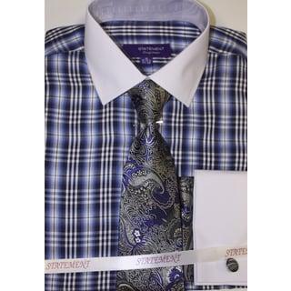 SH-819 Royal Shirt, Tie and Hankie Set