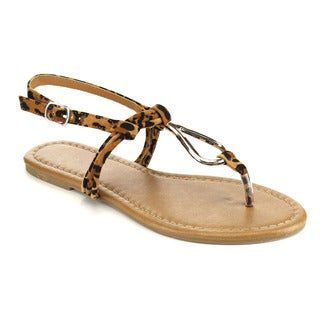 Beston T-Strap Summer Sandals