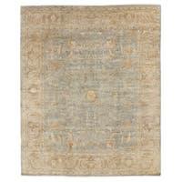 Exquisite Rugs Sultanabad Light Green / Beige New Zealand Wool Rug (9' x 12')