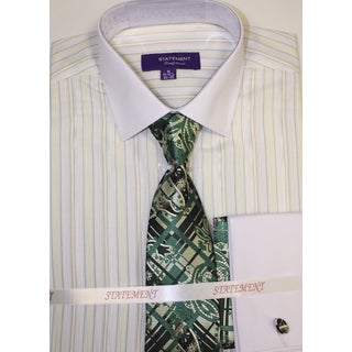 SH-815 Mint Shirt, Tie and Hankie Set