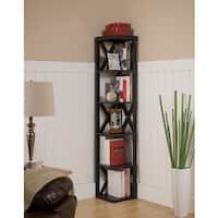 Copper Grove Foxtail Corner Bookcase