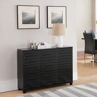 K&B Black Console Table