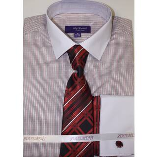 Statement Red Shirt, Tie and Hankie Set|https://ak1.ostkcdn.com/images/products/11775247/P18687306.jpg?impolicy=medium