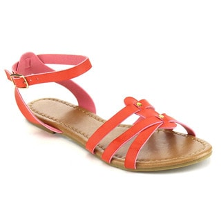 Beston Ankle Strap Flat Sandals
