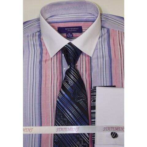 Statement Lavender Shirt, Tie and Hankie Set