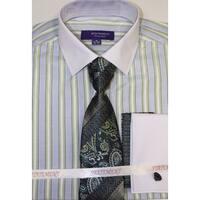 Statement SH-811 Mint Shirt Tie and Hankie Set