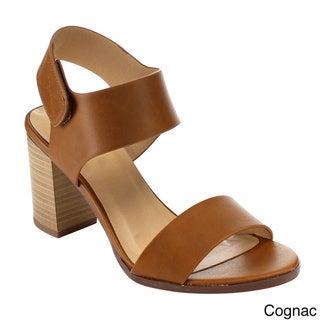 Beston Stacked Chunky Heel Sandals