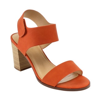 Beston Stacked Chunky Heel Sandals
