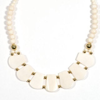 Boomika White Necklace