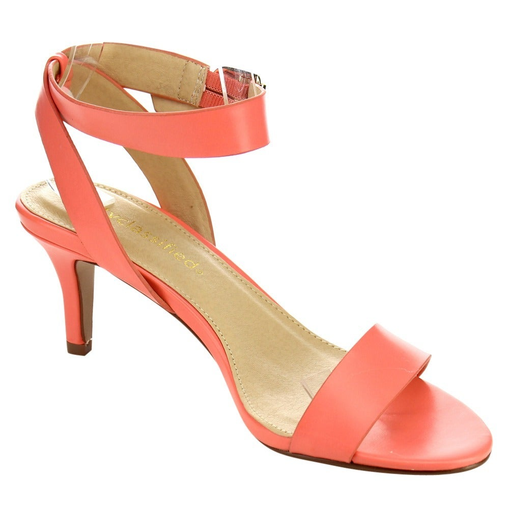 9431fe6dca4d Shop Beston Ankle Strap Stiletto Sandals - Free Shipping On Orders Over  45  - Overstock.com - 11775298