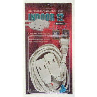 Coleman Cable 09418 Split Cube Tap Extension Cord