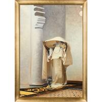 John Sargent 'Smoke of Ambergris, 1880' Hand Painted Framed Canvas Art